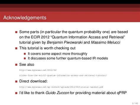 wordpress tutorial handouts quantum probabilities and quantum inspired information