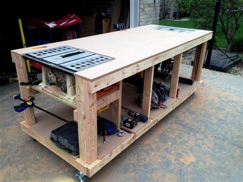 cool work benches garage workbench plans and patterns garage home decor