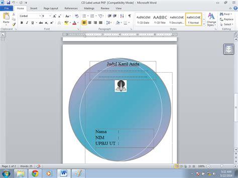 Format Cd Untuk Mobil | download format label cd untuk laporan pkp info operator
