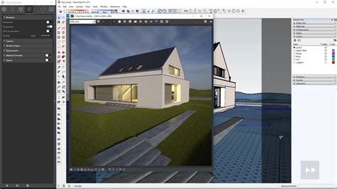 vray sketchup night lighting tutorial quick start with exterior lighting for sketchup cg tutorial