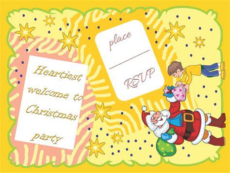 template free holiday party invitation template microsoft word