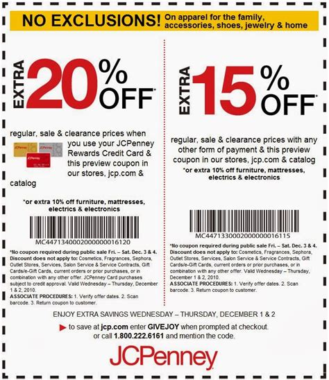 jcpenney printable coupons december printable coupons jcpenney coupons