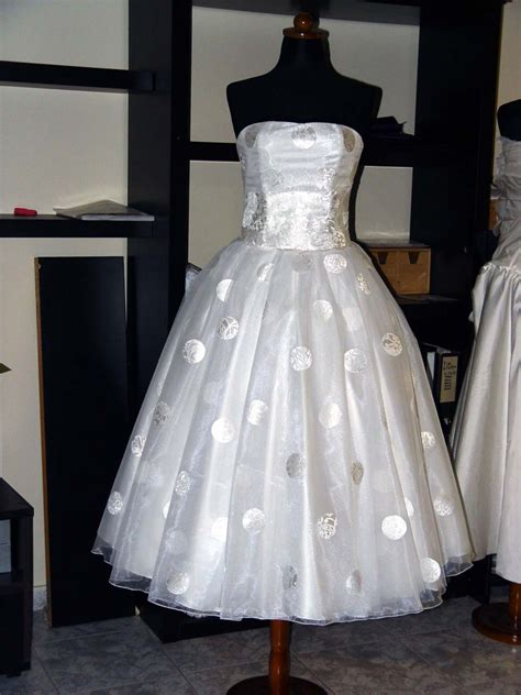 Reserved For Amanda Polka Dot Wedding Dress