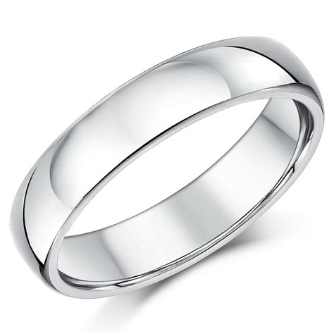 silver wedding rings plain sterling silver wedding bands