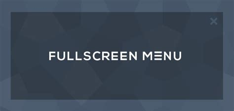 design menu full screen tendance web design fullscreen menu webdesigner trends