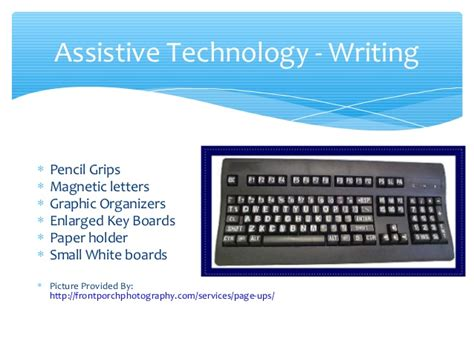 Justification Letter For Assistive Technology Assistive Technology In A Severe Special Education Classroom Presenta