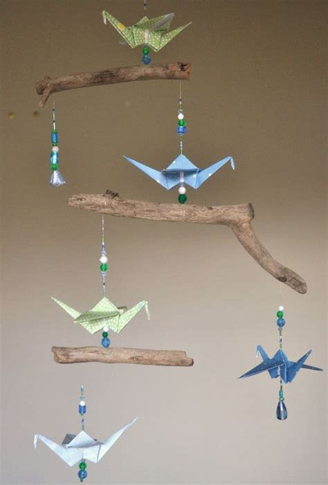 Origami Mobiles - 1000 ideas about origami cranes on paper