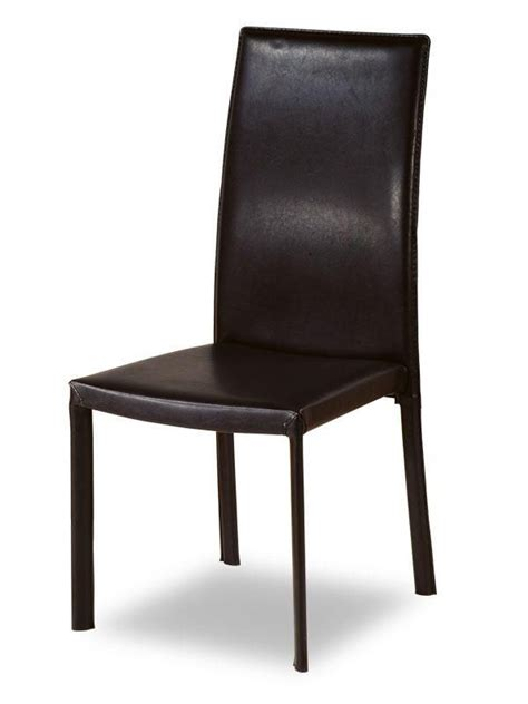 Designer Kitchen Chairs Contemporary Design Leather Kitchen Chair With Shoulders Back Support Pembroke Pines Florida Ah222