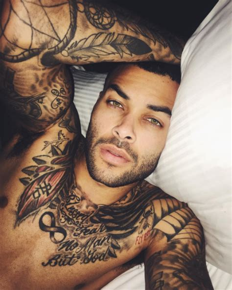 tattoo models on instagram 21 tattooed men that are way too hot to handle