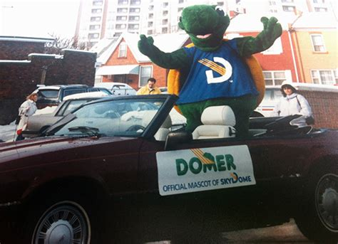 What Is A Domer Toronto Mascots From The Past And Present