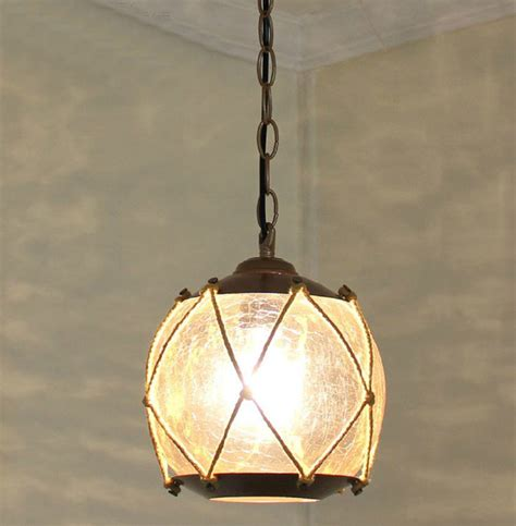 Antique Glass Pendant Lights Antique Cracked Glass Pendant Lighting Contemporary