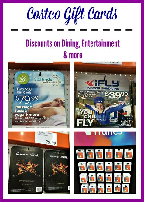 Costco Gift Cards - costco gift card save on dining entertainment and gifts thrifty nw mom