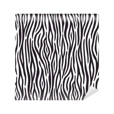 zebra pattern png seamless background with zebra skin pattern wall mural