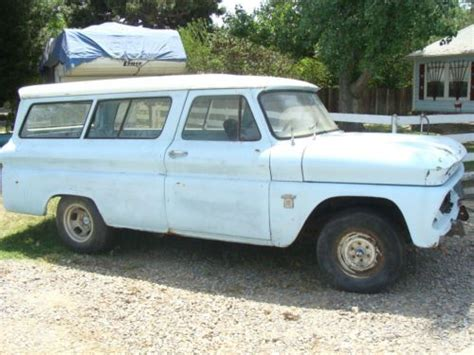 buy used 1963 chevy chevrolet c10 2 door suburban no