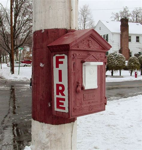 alarm call box