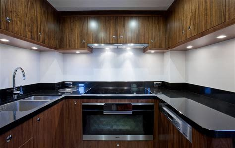 yacht kitchen yacht firefly galley west nautical