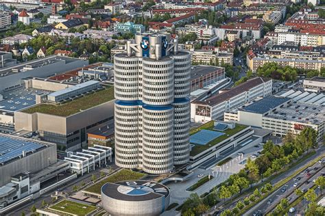 free stock photo of bmw welt building in munich germany