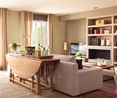 mesas para salones 30 salones peque 241 os bien aprovechados con muchas ideas y