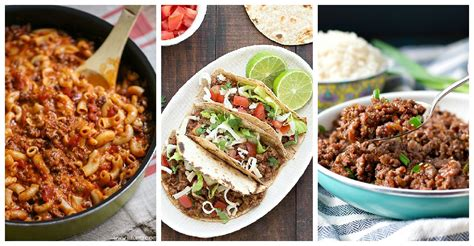easy dinner recipes with ground beef