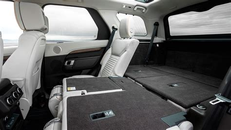land rover discovery sport rear seats fold land rover discovery 2017 review by car magazine