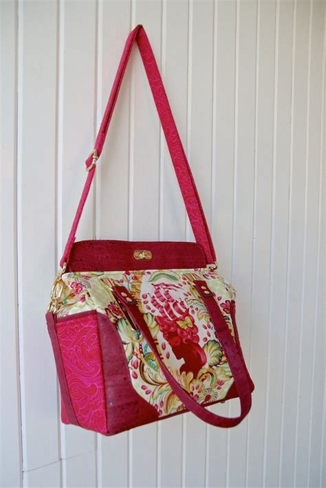 Handmade Handbag Patterns - emmaline bags sewing patterns and purse supplies
