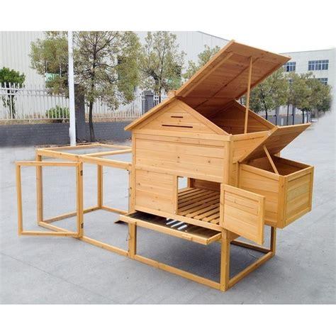 per galline pollaio per 6 8 galline ovaiole realizzato in legno da