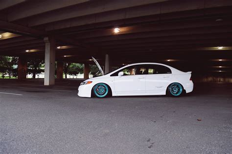 stanced wide wheel  gen civic  pictures  chat page   generation honda