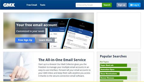best mail service email service providers list india