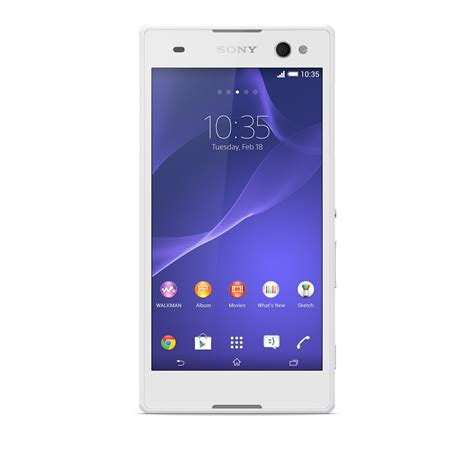 new mobile sony xperia c3 visiophone android sony mobile global