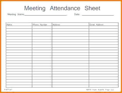 employee attendance sheet template 28 images employee