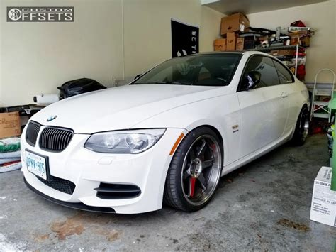 Pdf 2011 Bmw 335is Rims by 2011 Bmw 335is Volk Te37sl Kw Suspension Coilovers