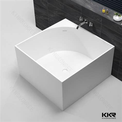 Small Whirlpool Bathtubs Artificial Stone Freestanding Bath Tub Very Small Bathtubs