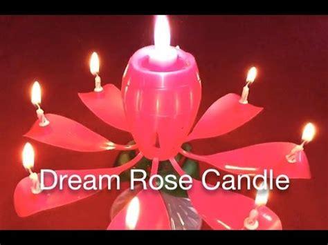 candele rosa candle
