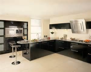 black gloss kitchen ideas construindo minha casa clean cozinha em laca ou mdf