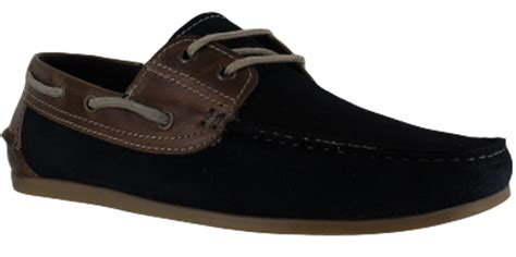 Sneakers Pnc 4 stratton mens navy suede smart leather lace up boat shoes ebay