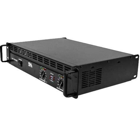 Power Lifier Watt new seismic audio power lifier pa dj 3000 watts ebay