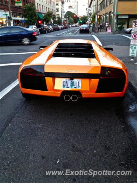 Lamborghini Portland Lamborghini Murcielago Spotted In Portland Oregon On 09