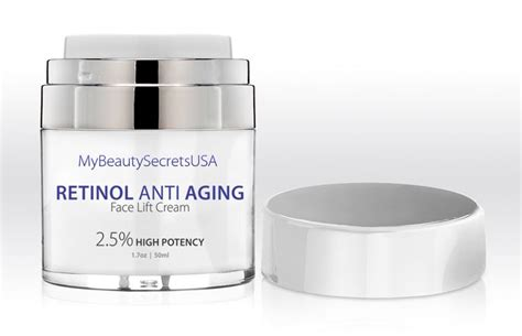 retinol cream  beauty secrets usa