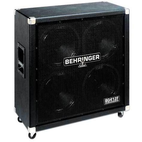 Freddyk S Review Behringer Ultrastack Bg412f Audiofanzine Behringer 4x12 Guitar Cabinet