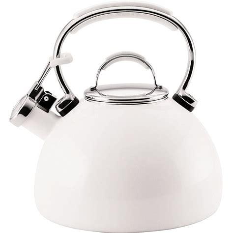 Kitchenaid Quart Kettle Kitchenaid White 2 Quart Tea Kettle For The Home