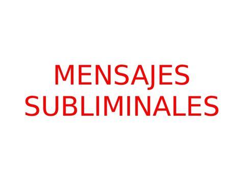 mensajes subliminales aterradores mensajes subliminales