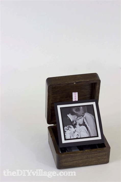 pop up photo box gift idea the diy