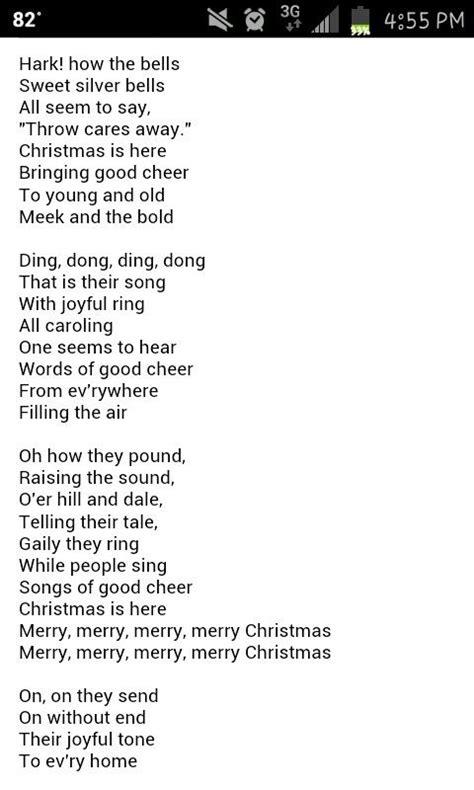 printable lyrics carol of the bells carol of the bells music lyrics pinterest christmas