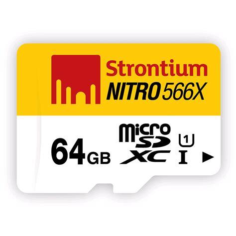 Termurah Microsd Strontium Nitro 16gb Speed 433x 65mb S strontium nitro 566x microsdxc card 64gb 85mb s class 10 uhs i expansys australia