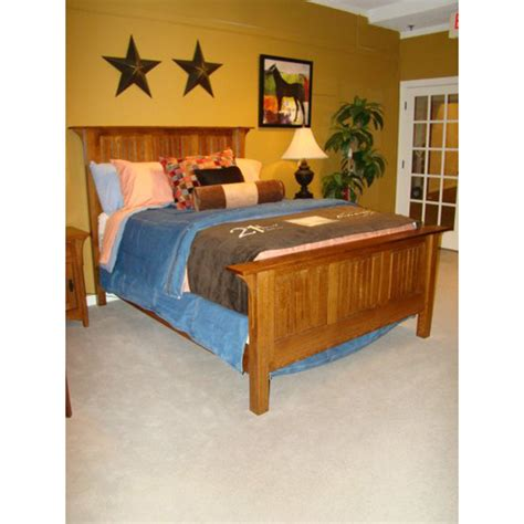 Levis Furniture by Panel Bed 109 789 Levis Mission Furniture Made In Usa