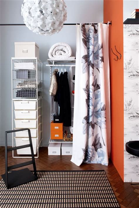 Hanging Rails For Walk In Wardrobes by Small Space Wardrobe Crates Hanging Rails Clothes