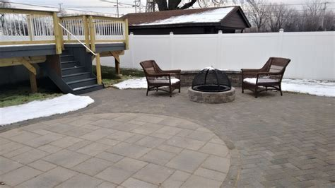 Patio Bridgeview by Deck With Patio Combination In Bridgeview Il