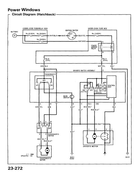 2004 honda civic alternator wiring diagram circuit and