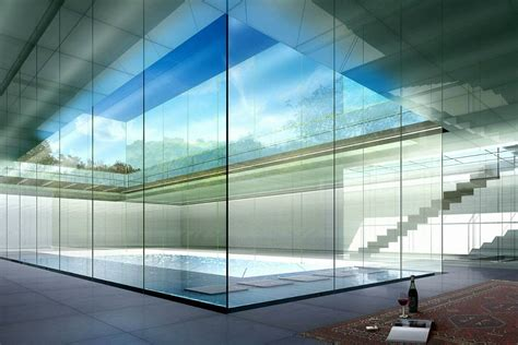glass walls architectural renderings by dbox