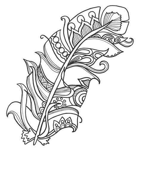 adult coloring sheets free coloring sheet 10 fun and funky feather coloringpages original art coloring